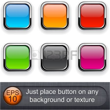 Different blending layer modes were used. You can easy place button on any background or texture.  photo