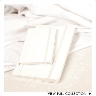 Moleskine White Notebooks WANTED!