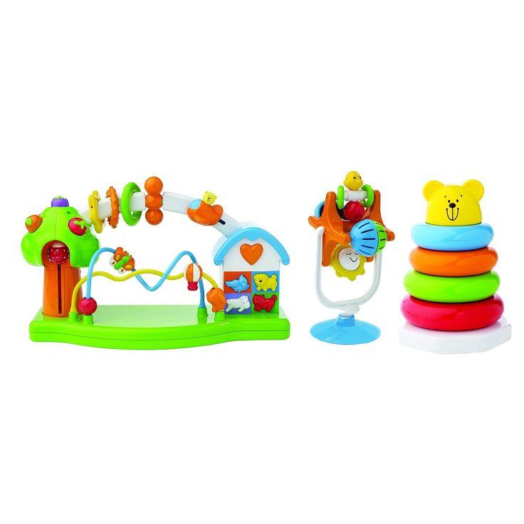"""Bruin - Parc d'activités + ours pyramide + hochet d'activités - Toys R Us - Babies""""R""""Us"""