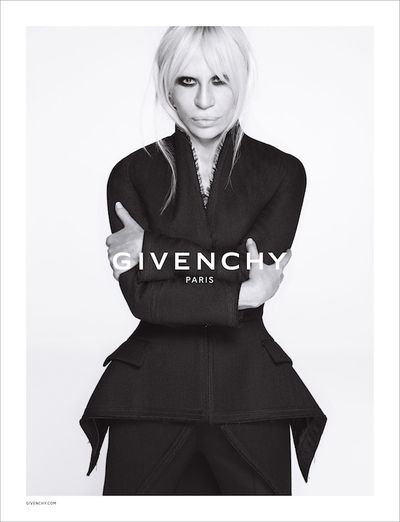 Donatella Versace Is The New Face of Givenchy.