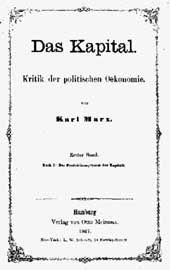 Das Kapital (Il Capitale) è l'opera maggiore di Karl Marx ed è considerata il testo-chiave del marxismo.Il sottotitolo dell'opera, Critica dell'economia politica, evidenzia la contrapposizione di Marx all'economia politica liberista dell'epoca. Affrontando una riflessione critica sui temi sollevati dagli economisti classici Adam Smith e David Ricardo, Marx espone la sua teoria sul valore.