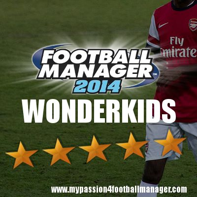 "A closer look at the new Potential Football Manager 2014 Wonderkids and emerging football talents of 2013/2014  Eeryday for the next 5 days we will publish two new football wonderkids and some promising talents to make you able to discover them ""before eveyone else""!    http://www.mypassion4footballmanager.com/2013/09/new-football-manager-2014-wonderkids-and-emerging-talents.html"