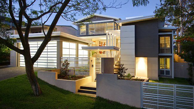 A 1960 39 s single story weatherboard home transformed into a for Modern weatherboard home designs