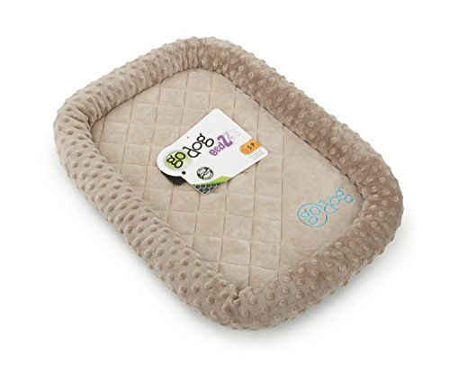 Aus der Kategorie Betten  gibt es, zum Preis von EUR 24,27  These beds have a non-skid bottom and a cushioned bolster for comfort and safety. They are machine washable and fit most standard-size dog crates. GoDog Bedzzz are guaranteed to last longer than standard soft plus beds. More Info: GoDog-Bedzzz Bubble Plush Small: Beige. These beds have a non-skid bottom and a cushioned bolster for comfort and safety. They are machine washable and fit most standard-size dog crates. This package…
