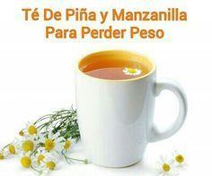 TÉ... QUITA HAMBRE, DEPURATIVO, DESINTOXICANTE, Y ADELGAZANTE DE PIÑA Y MANAZANILLA...!!!!!!!!!!!!!!!!! El té de piña y manzanilla reduce el apetito, es termogénico, lo cual aumenta la temperatura de tu cuerpo y facilita la quema de calorías. Es diurético, y permite liberar las toxinas que perjudican la salud de tu cuerpo. * INGREDIENTES Cascara de ½ piña cortada en pequeños trozos 1 Taza de piña cortada en cubitos 1/2 litro de agua 1 sobre de té de manzanilla Sustituto de azúcar…