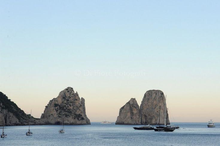 Fotografi matrimonio Campania. Matrimonio mediterraneo stile Tiffany. Nozze a Capri