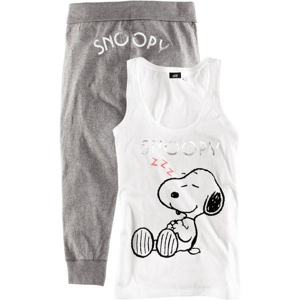 H Pyjamas ($29) found on Polyvore