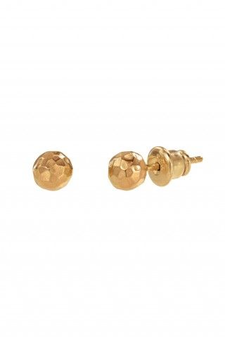 gold studs: Dot Studs, Gold Ball, Beautiful Women, Beautiful Clothes, Ball Studs Gold, Gold Studs