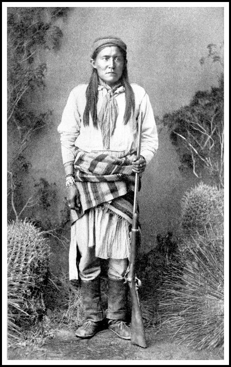 Chatto (1860–1934), was a Chiricahua Apache subchief who later became an Apache Scout. Following his service as a scout he was taken prisoner after being coerced to travel to Washington, D.C. Chatto was imprisoned in St. Augustine, Florida along with almost 500 other Apache at Fort Marion.