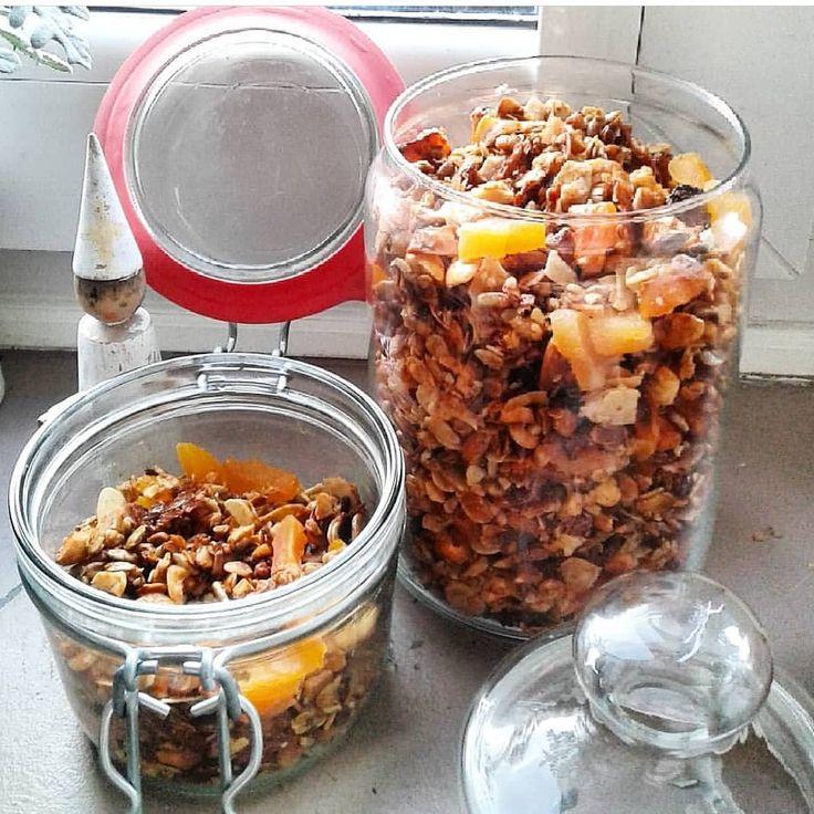 """Polubienia: 1,231, komentarze: 20 – Elżbieta (@eliza_betka) na Instagramie: """"Gdy najdzie ochota na coś słodkiego zawsze mozesz pochrupać domową granolę😊😊😊Domowe mussli z mojego…"""""""