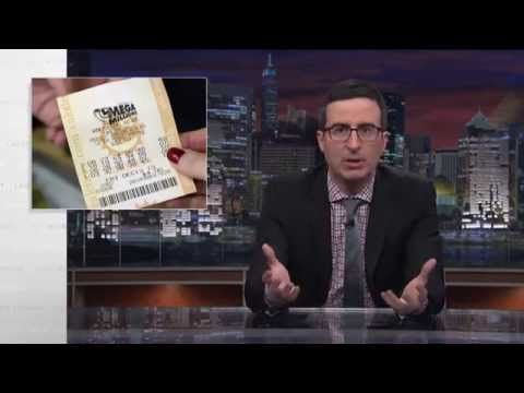 """HBO's John Oliver on State Lotteries and Education. """"When you think about it, it's a little bit strange for the government to basically be in the gambling business,"""" Oliver says in the nearly 15-minute segment. (Warning: The show is on HBO, and Oliver uses some four-letter words, though they are bleeped.) http://blogs.edweek.org/edweek/education_and_the_media/2014/11/hbos_john_oliver_on_state_lotteries_and_education.html?cmp=soc-edit-tw"""