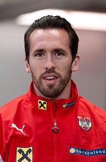 Christian Fuchs. Austria Captain.