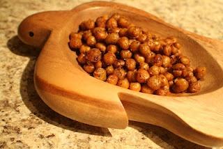 Crispy Spiced Chick Peas
