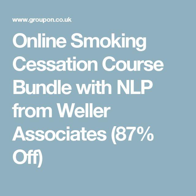 Online Smoking Cessation Course Bundle with NLP from Weller Associates (87% Off)
