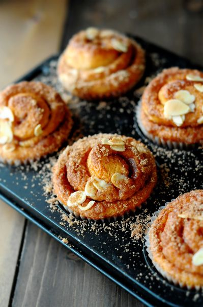 Fresh from the oven: cinnamon rolls
