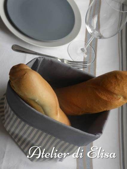 Sacchettini di stoffa porta pane