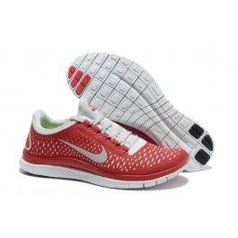 Nagelneu Nike Free 3.0 V4 Männerschuhe Rot Weiß Schuhe Günstig | Genial Nike Free 3.0 V4 Schuhe Günstig | Nike Free Run Schuhe Günstig Zu Verkaufen | schuhegunstig.net