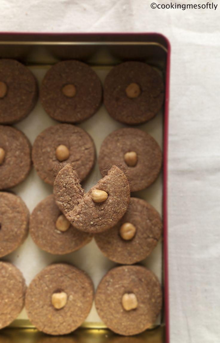 hazelnuts cookies #cookingmesoftly #hazelnut #cookies