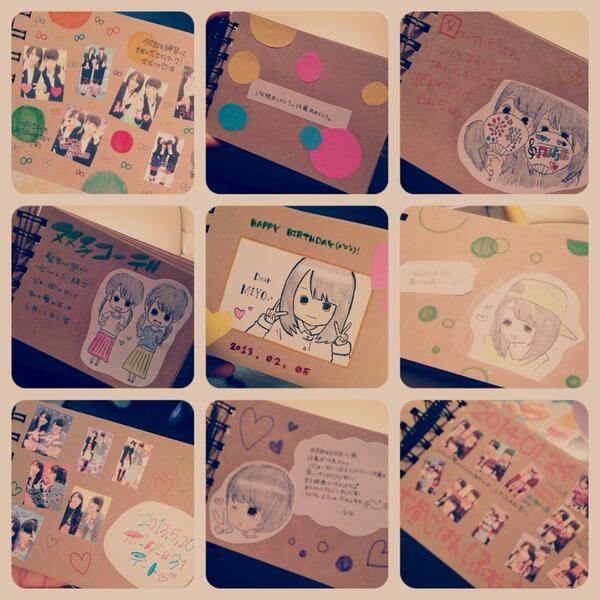 「世界にひとつの宝物!誕生日には手作りアルバムをDIYしてプレゼント♡」に含まれるツイート画像