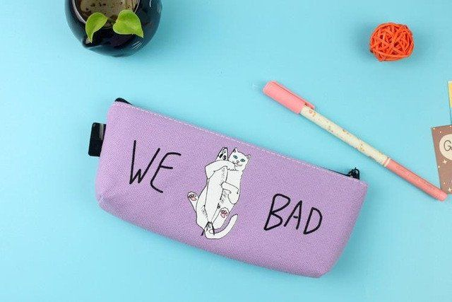 """We Bad"" Pencil Case – Kwaii.eu"