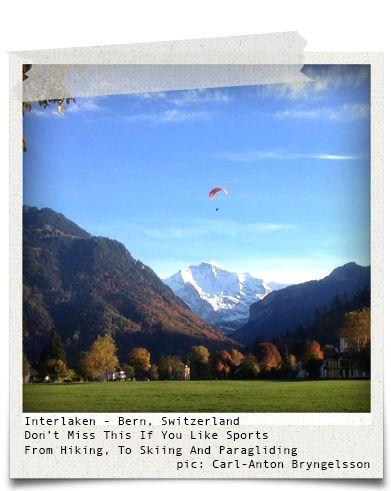 Interlaken - Bern, Switzerland (pic: Carl-Anton Bryngelsson via www.hiddentreasures.ch)
