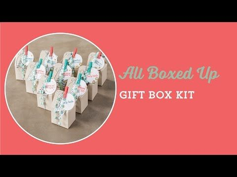 All Boxed Up Kit Video by Stampin' Up!