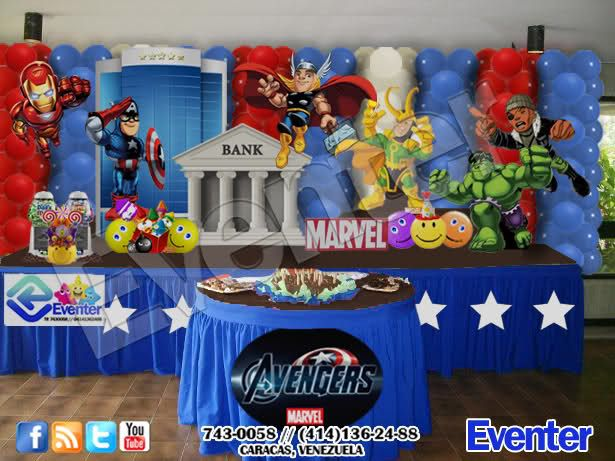 centros de mesa avengers - Buscar con Google