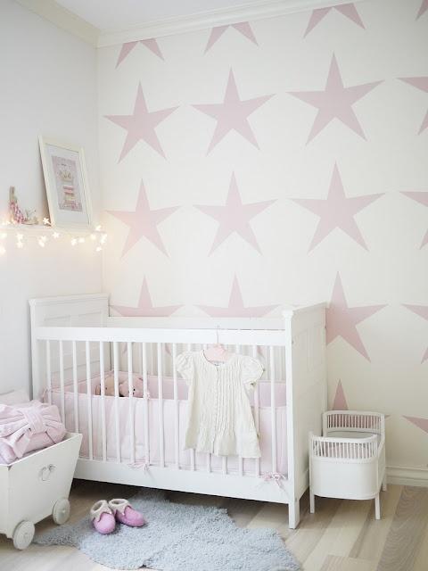 Star nursery wall art