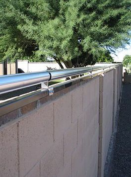 Coyote in Yard|Predator Jump Proof Fencing| Coyote Rollers|Keep Coyotes Out|Stop Coyote Attacks Phx AZ