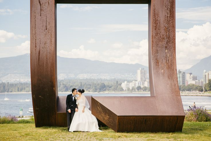 Wedding photo shoot in Vancouver, BC, Canada.  Photography by Love Frankly Wedding photography