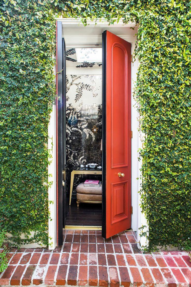 Coral Front Door 104 Best Colorful Front Doors Images On Pinterest Doors Windows