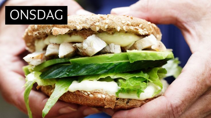 hele ukens: Burger med kylling, avokado og cæsardressing - KK.no