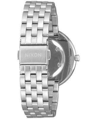 Nixon Women's Vix Bracelet Watch 34mm - Silver