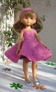 DIY : robe sixties poupée corolle