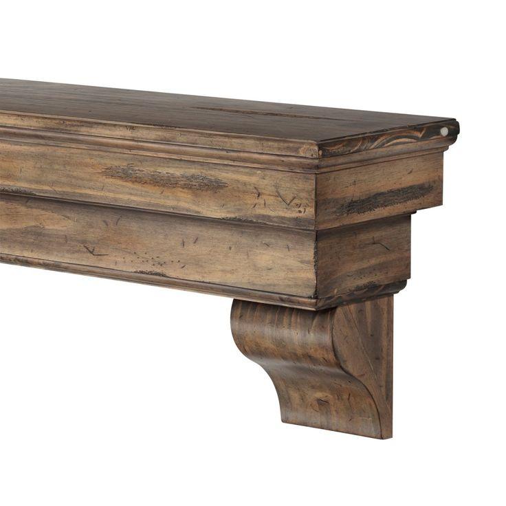 Pearl Mantels Celeste Fireplace Mantel Shelf - Fireplace Mantels & Surrounds at Hayneedle