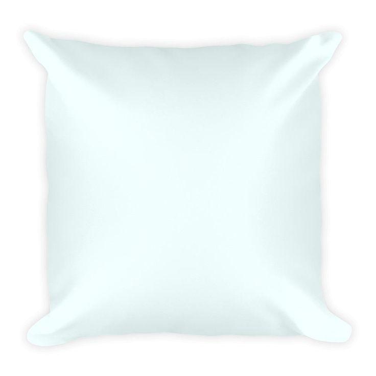 Azure Square Pillow
