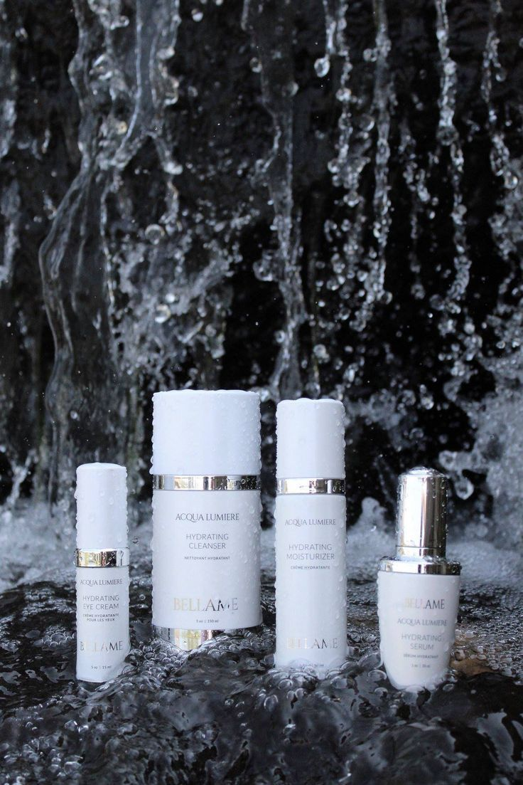 """My new skincare line, Acqua Lumiere, literally means"