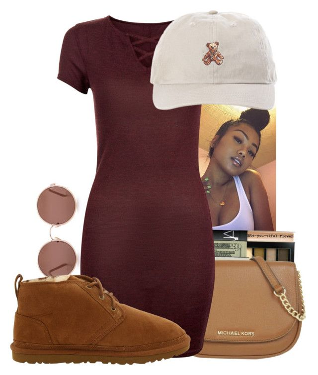 """""""Teddy Bear """" by melaninaire ❤ liked on Polyvore featuring Sunday Somewhere and UGG Australia"""