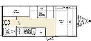 2016 New Coachmen Viking RVs 17BH Travel Trailer in Oklahoma OK.Recreational Vehicle, rv, 2016 Viking RVs 17BH LIGHT WEIGH FAMILY CAMPER! LOADED AND EASILY TOWABLE! COMES WITH FULL SIZE AC, BLUETOOTH STEREO, TV HOOKUPS & MORE! GREAT VALUE! ONLY 2800 LBS! MSRP - $16,174.50 - OUR PRICE ONLY $12,879! FACTORY OPTIONS ON THIS UNIT: TOWABLE ESSENTIALS PACKAGE (3.0 CU FT FRIDGE, 20K BTU FURNACE, 13.5K BTU ROOF AC, 6 GAL GAS/ELEC WATER HEATER, SPARE TIRE/CARRIER, REAR STAB JACKS, STEREO, BLUETOOTH…