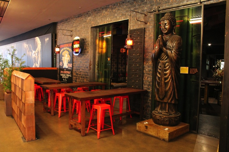left side view of the Asian Beer Cafe Entrance