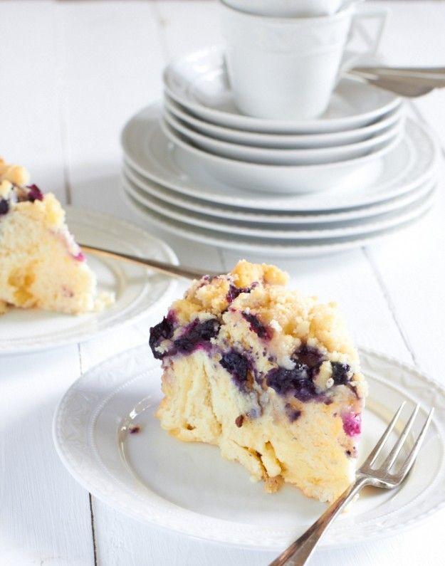 Blaubeer-Puddingstreuselschnecken oder das Tüpfelchen auf dem i
