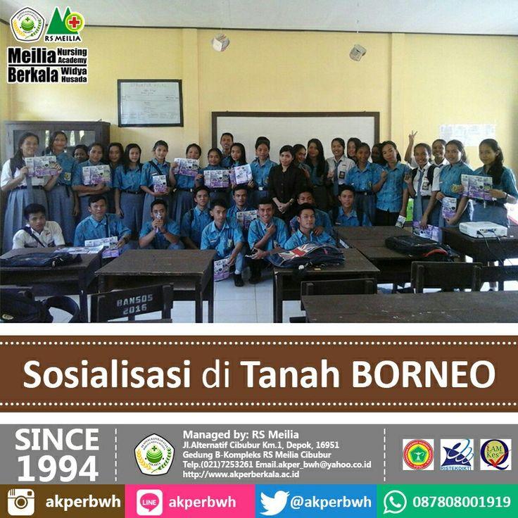 Sosialisasi menjadi PERAWAT HEBAT di Tanah BORNEO hanya di AKPER BERKALA • • #akper #akademi #keperawatan #akperberkala #cibubur #depok #cileungsi #bekasi #bogor #tangerang #jakarta #indonesia #mahasiswa #kampus #kuliah