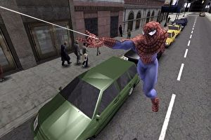 Treyarchs Spider-Man 2 was first released on 28 June 2004. More than 13 years later it still holds up as a yardstick for both Spider-Man and superhero video games. But its not the combat people remember. Its not the balloon kid or pizza delivery side missions. Its not the amazing cast of villains either. Its the swinging the sheer exhilaration of flying over around between and often smack into buildings. Spider-Man 2 is a tantalising playground of needles to thread a true-to-life Spidey…