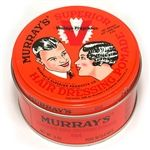 With a vintage fragrance developed in the early 1920s, this special edition of Murray's Superior Hair Dressing Pomade fearures the artwork originally created for C.D. Murray in 1925. Available at theGreaseShop.com