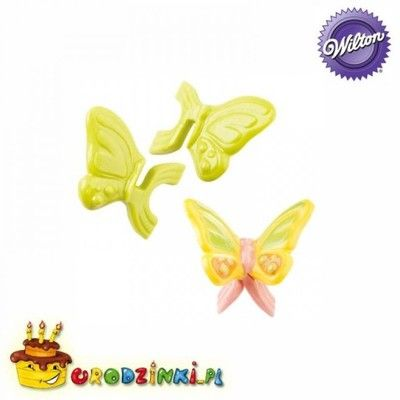 . Plastikowa foremka czekoladowe MOTYLKI motyle 3D