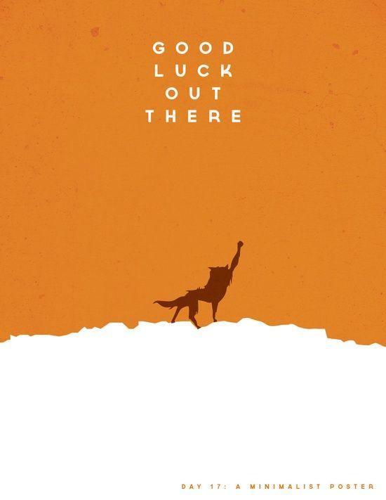 Fantastic Mr. Fox minimalist poster