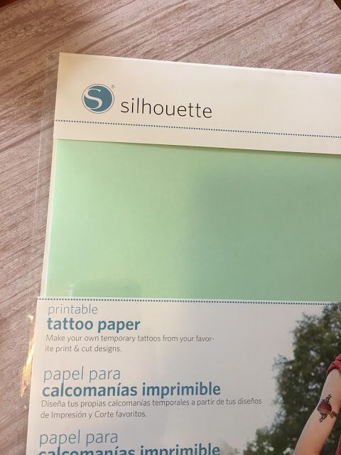 Transferring Photos to Wood with Silhouette Temporary Tattoo Paper   – Projects to make and sell