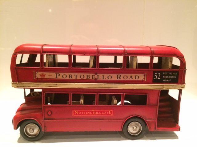 Online veilinghuis Catawiki: Unieke Metalen Rode Engelse Dubbeldekker Bus