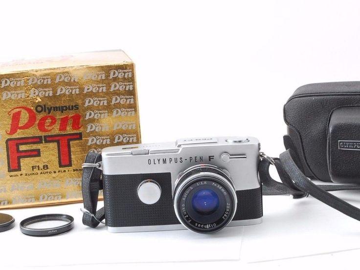 OLYMPUS Pen FT Half frame 35mm SLR Film Camera w/38mm f1.8 Boxed [Exc++]   eBay