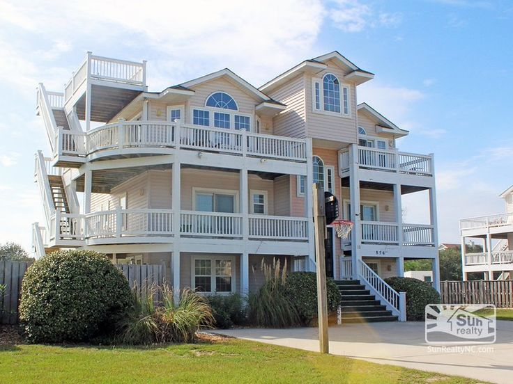 WHL 856   8 bedroom  7  bathroom oceanside vacation rental in Corolla. 68 best New 2016 Vacation Rentals images on Pinterest   Outer